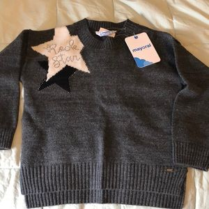 Mayoral 3T/4T wool blend sweater